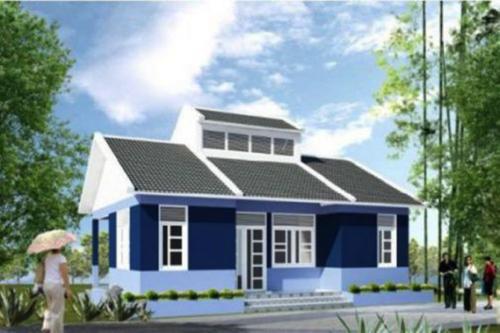 Mẫu 5 - Chi phí xây nhà 100 triệu đồng