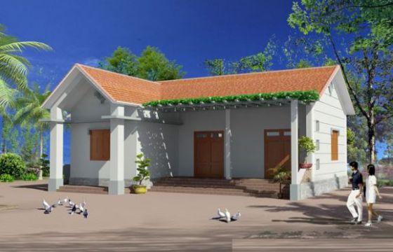Mẫu 8 - Chi phí xây nhà 100 triệu đồng