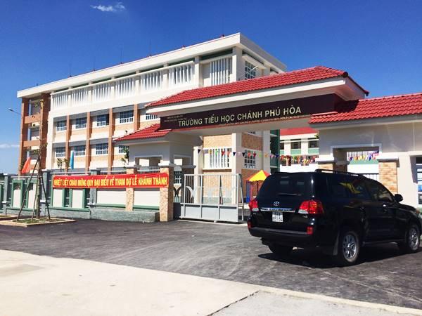 Lễ khánh thành Trường tiểu học Chánh Phú Hòa, Bến Cát, Bình Dương