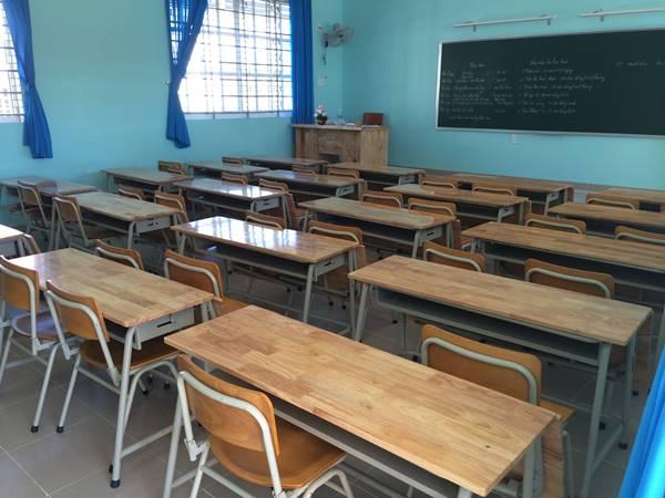 Phòng học trang thiết bị hiện đại